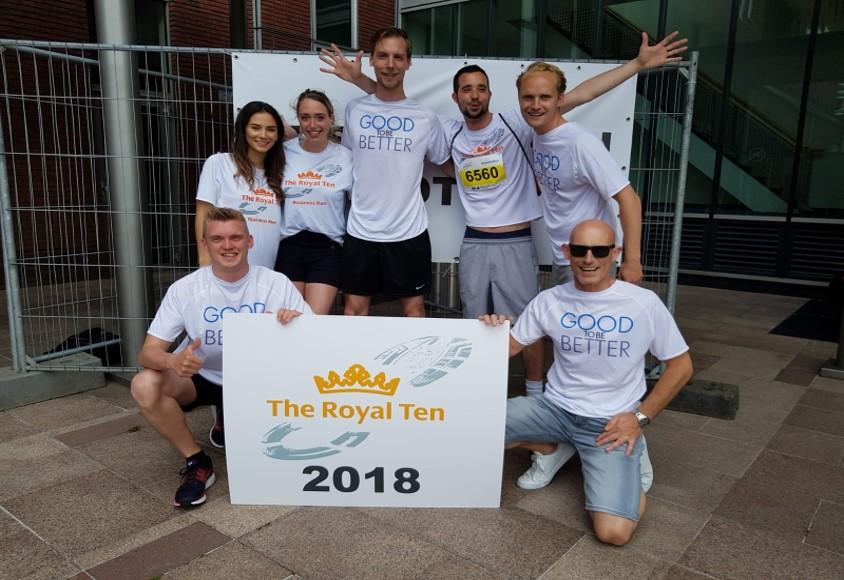 Royal Ten Business Run Winnaars! #1