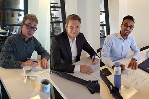 2 nieuwe Trainees & een nieuwe accountmanager!