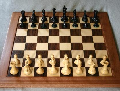 WK bedrijven schaak