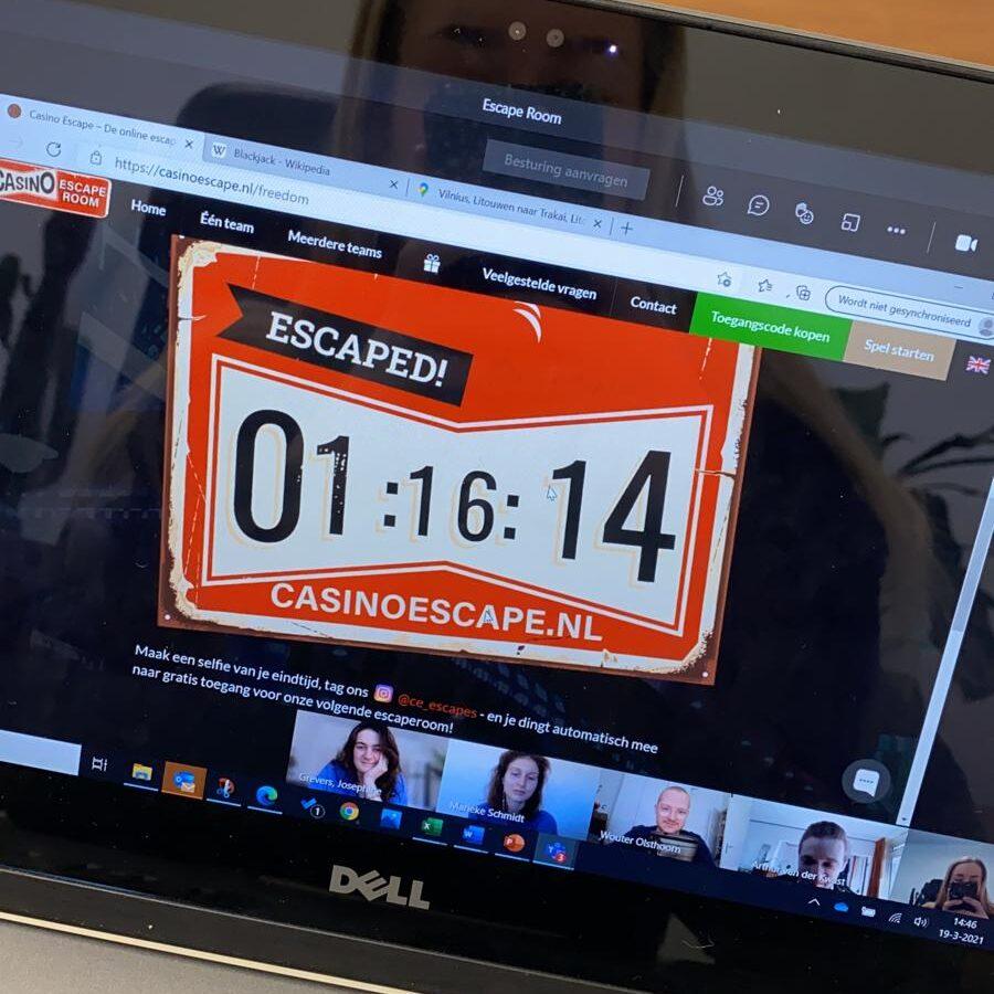 Online escaperoom!